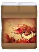 Gilded Roses Duvet Cover
