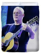 Gilmour Guitar By Nixo Duvet Cover