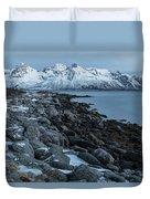 Gimsoy, Lofoten - Norway Duvet Cover