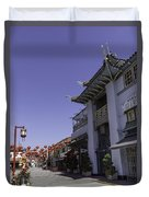 Gin Ling Gifts Los Angeles Duvet Cover