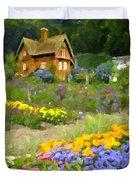 Ginger Cottage Duvet Cover