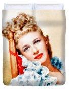 Ginger Rogers By John Springfield Duvet Cover