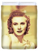 Ginger Rogers, Hollywood Legends Duvet Cover