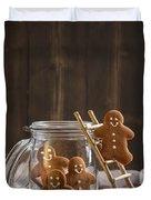 Gingerbread Men Duvet Cover