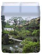 Ginkaku-ji Zen Temple No. 1 - Kyoto Japan Duvet Cover