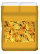 Ginkgo Biloba Leaves Duvet Cover