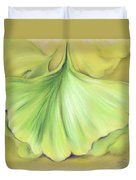 Ginkgo On The Cusp Of Autumn Duvet Cover