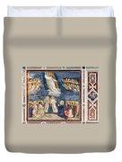 Giotto: Ascension Duvet Cover