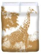Giraffe 2 Duvet Cover