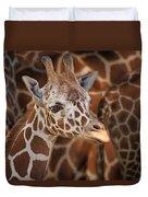 Giraffe - Camouflage Duvet Cover