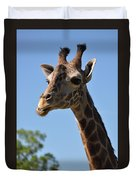 Giraffe Neck Duvet Cover