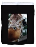 Giraffe Nose Duvet Cover