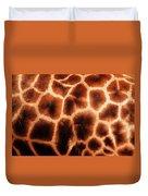 Giraffe Texture Duvet Cover
