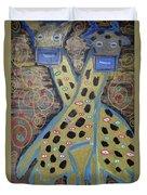 Giraffes  Duvet Cover
