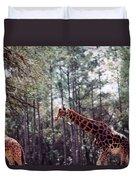 Giraffesgalore Duvet Cover