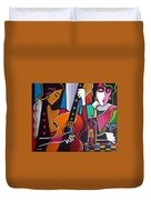 Girls Night Out Duvet Cover