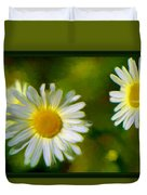 Give Me Daisy In Color Duvet Cover