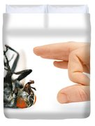 Give Pests The Flick Duvet Cover