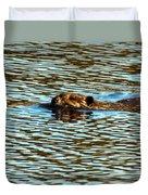A Swim By Duvet Cover