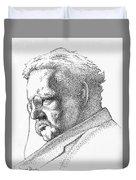 Gk Chesterton Duvet Cover