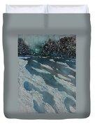 Glacial Moraine Duvet Cover