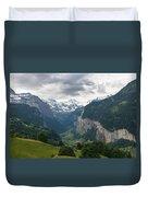 Glacial Valley Duvet Cover