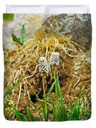 Glacial Wildflowers Duvet Cover