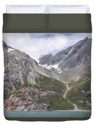 Glaciated Valley Duvet Cover