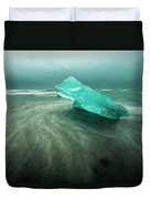 Glacier Beach Duvet Cover