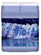 Glacier - Calving - Reflection Duvet Cover