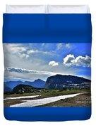 Glacier Country Park Duvet Cover
