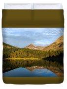 Glacier - Fishercap - Reflection Duvet Cover