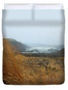 Glacier In The Distance Duvet Cover