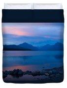 Glacier - Lake Mcdonald Dawn Duvet Cover