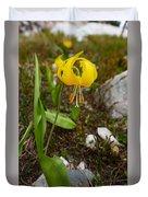 Glacier Lily 1 Duvet Cover