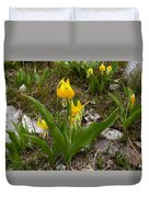 Glacier Lily 3 Duvet Cover