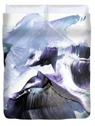 Glacier Mountains Duvet Cover
