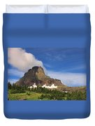 Glacier National Park At Logan Pass Duvet Cover