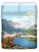 Glacier National Park Duvet Cover