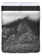 Glacier National Park Montana Horizontal Duvet Cover