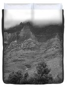 Glacier National Park Montana Vertical Duvet Cover