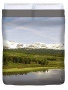 Glacier National Park Scenic Duvet Cover