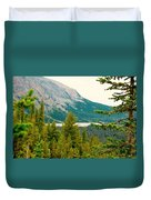 Glacier Np View Duvet Cover