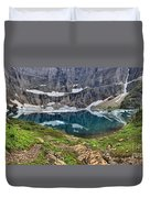 Glacier Paradise Duvet Cover