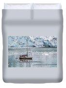 Glacier Sailing Duvet Cover