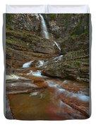 Glacier Virginia Falls Cascades Duvet Cover