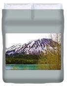 Glacier Waters Duvet Cover