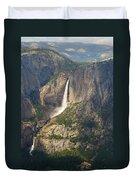 Glacierpoint Yosemitefalls Duvet Cover