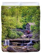 Glade Creek Grist Mill 3 Duvet Cover