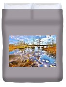 Glades Reflective 1 Duvet Cover